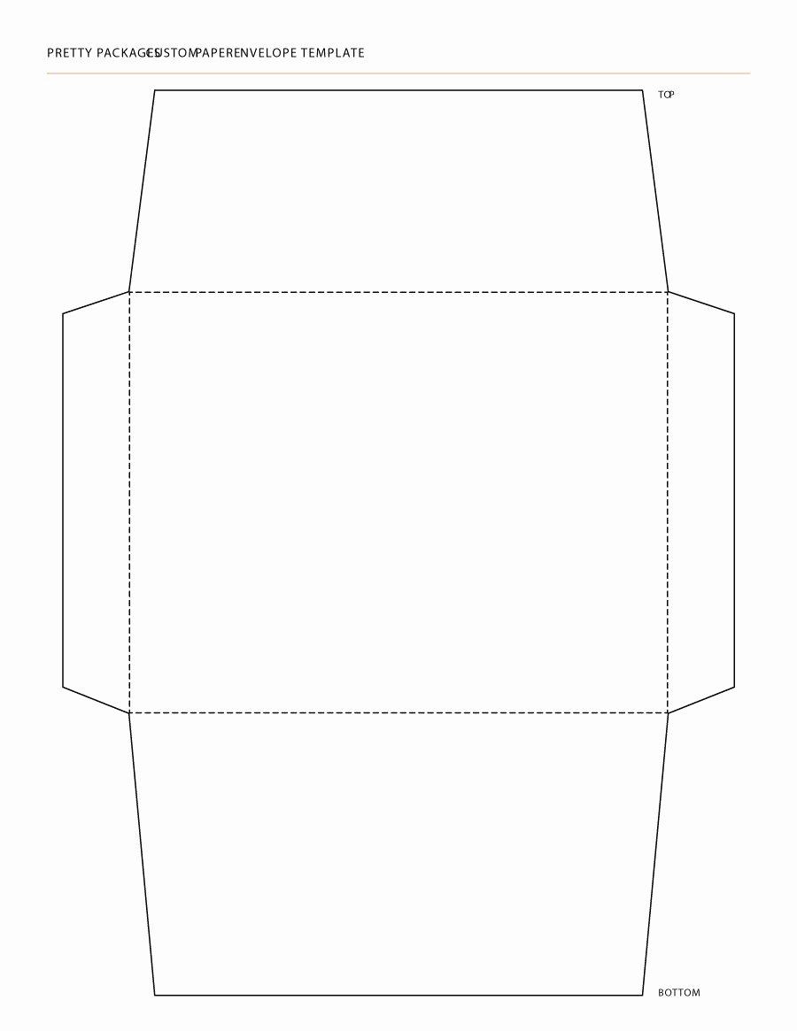 Printable Envelope Template Pdf Luxury 40 Free Envelope Templates Word Pdf Template Lab