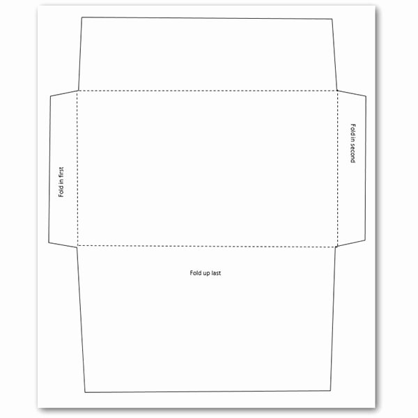 Printable Envelope Template Pdf Luxury 5 Free Envelope Templates for Microsoft Word