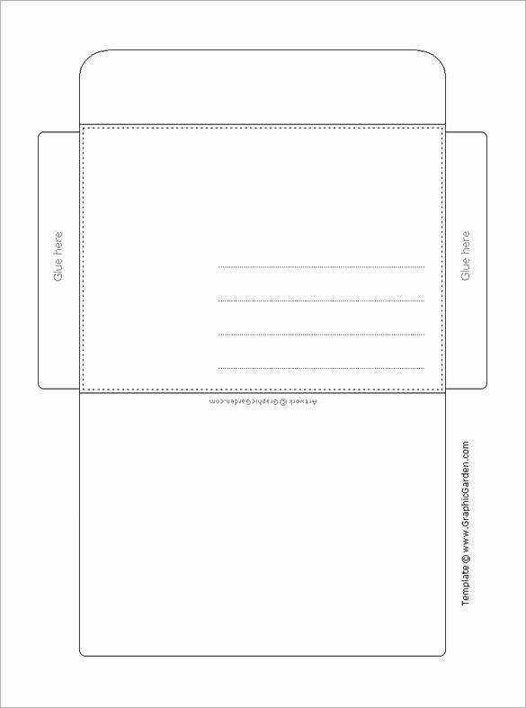 Printable Envelope Template Pdf Luxury Envelope Template 37 Free Printable Psd Pdf Eps Word