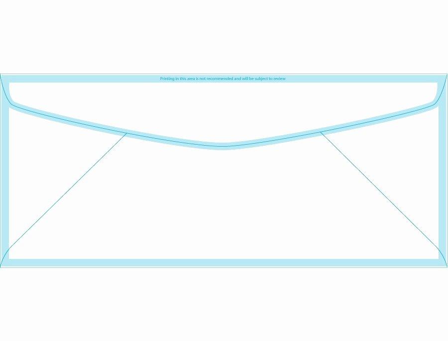 Printable Envelope Template Pdf New 40 Free Envelope Templates Word Pdf Template Lab
