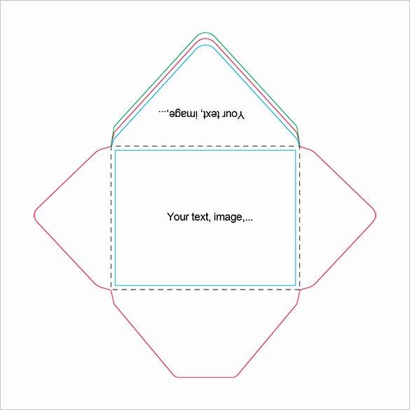 Printable Envelope Template Pdf Unique Beautiful A2 Envelope Templates – 13 Free Printable Word