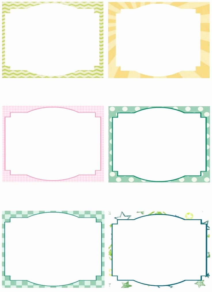 Printable Flash Card Template Awesome Free Note Card Template Image Free Printable Blank Flash