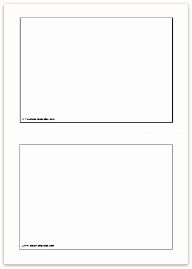 Printable Flash Card Template Fresh Flash Card Template