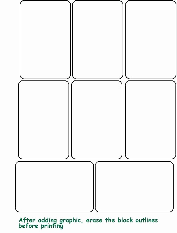 Printable Flash Card Template Fresh Printable Blank Flash Card Template Word Cards