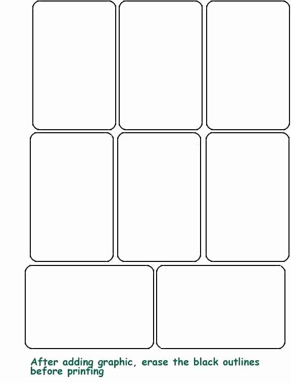 Printable Flash Card Template Fresh Printable Flash Card Template Free Blank Templates Cards