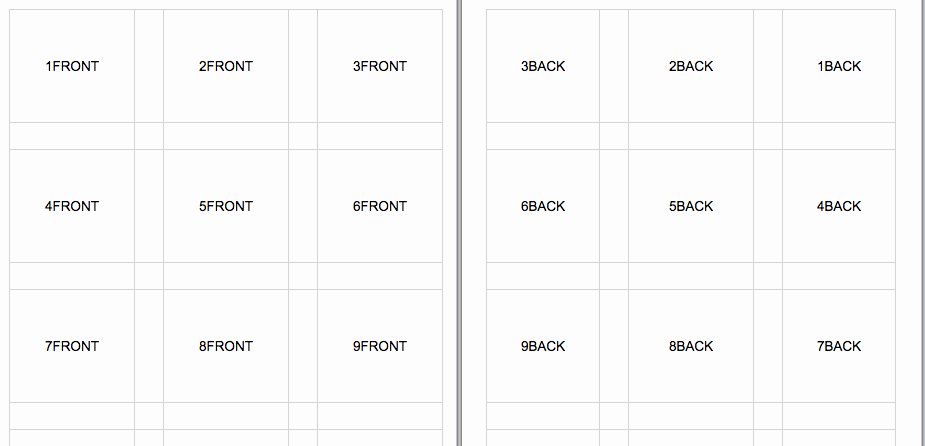 Printable Flash Card Template Inspirational Flash Cards to Print Rcnschool