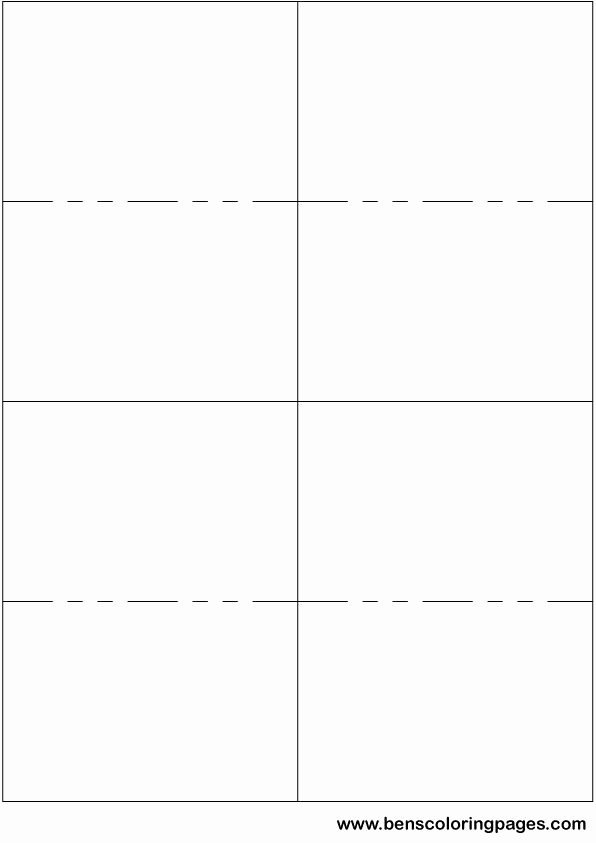 Printable Flash Card Template Unique Printable Small Flashcard Template