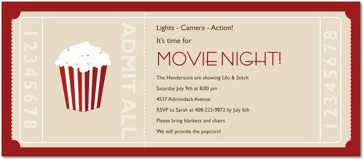 Printable Movie Tickets Template Awesome Free Printable Movie Tickets Invitation – orderecigsjuicefo