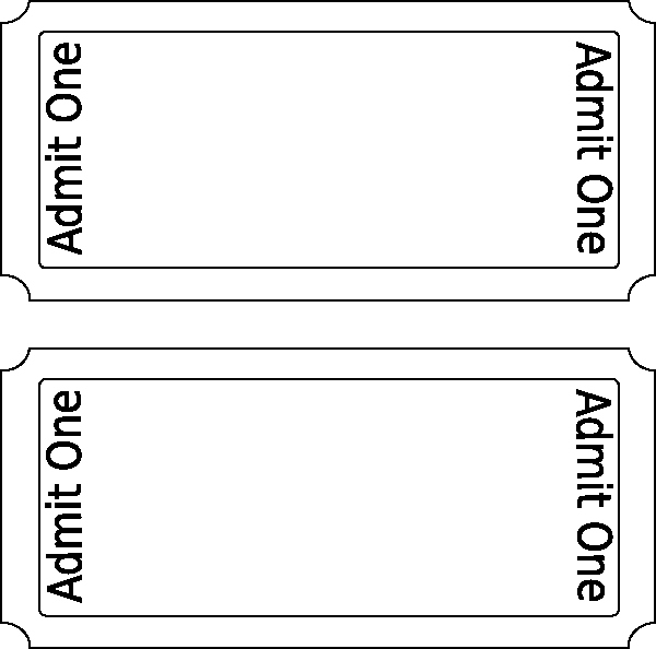 Printable Movie Tickets Template Beautiful Movie Ticket Clip Art at Clker Vector Clip Art