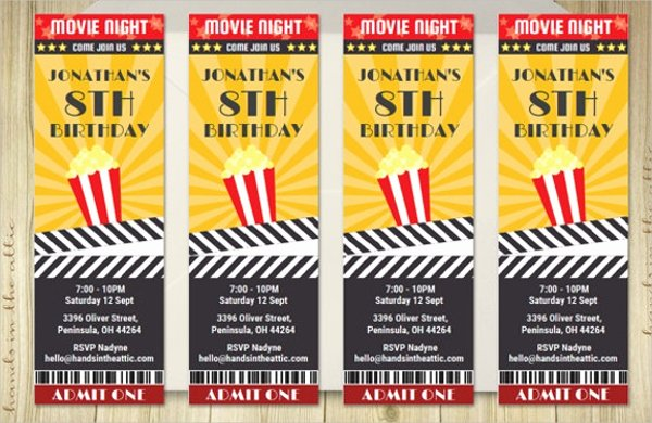 Printable Movie Tickets Template Best Of 53 Printable Ticket Templates Psd Ai Word