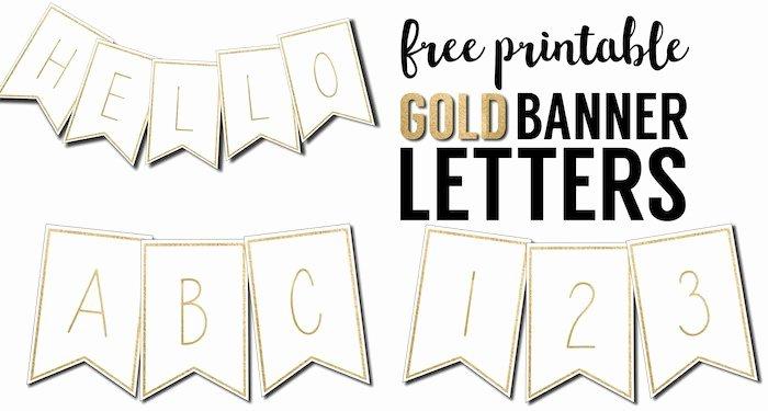 Printable Pennant Banner Template Free Fresh Free Printable Banner Letters Templates Paper Trail Design