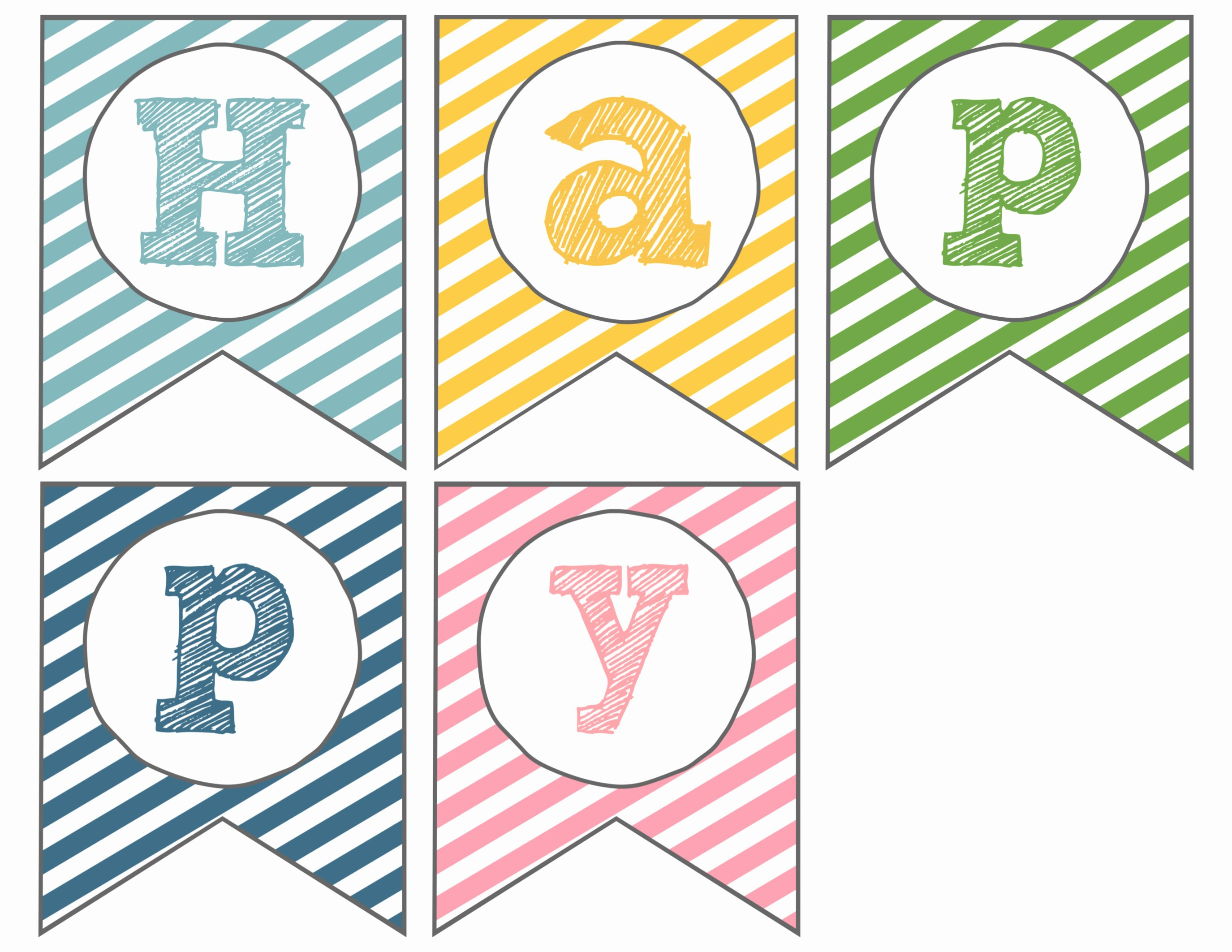 Printable Pennant Banner Template Free Inspirational Easter Banner Free Printable Happy Easter Paper Trail