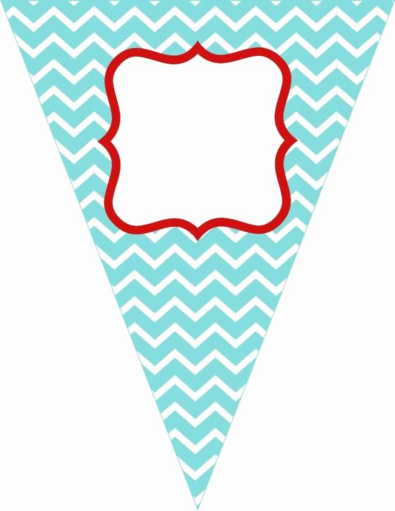Printable Pennant Banner Template Free Luxury Free Printable Birthday Banner