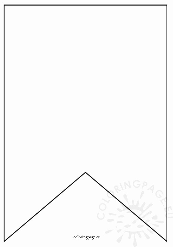 Printable Pennant Banner Template Free New Flag Banner Template
