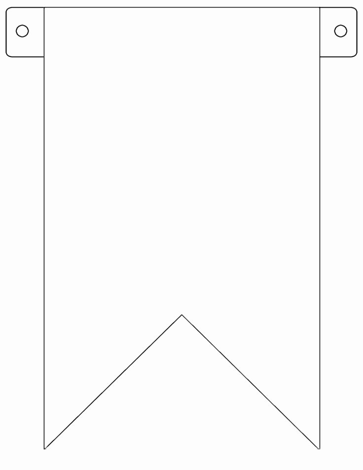 Printable Pennant Banner Template Inspirational Pinterest • the World's Catalog Of Ideas