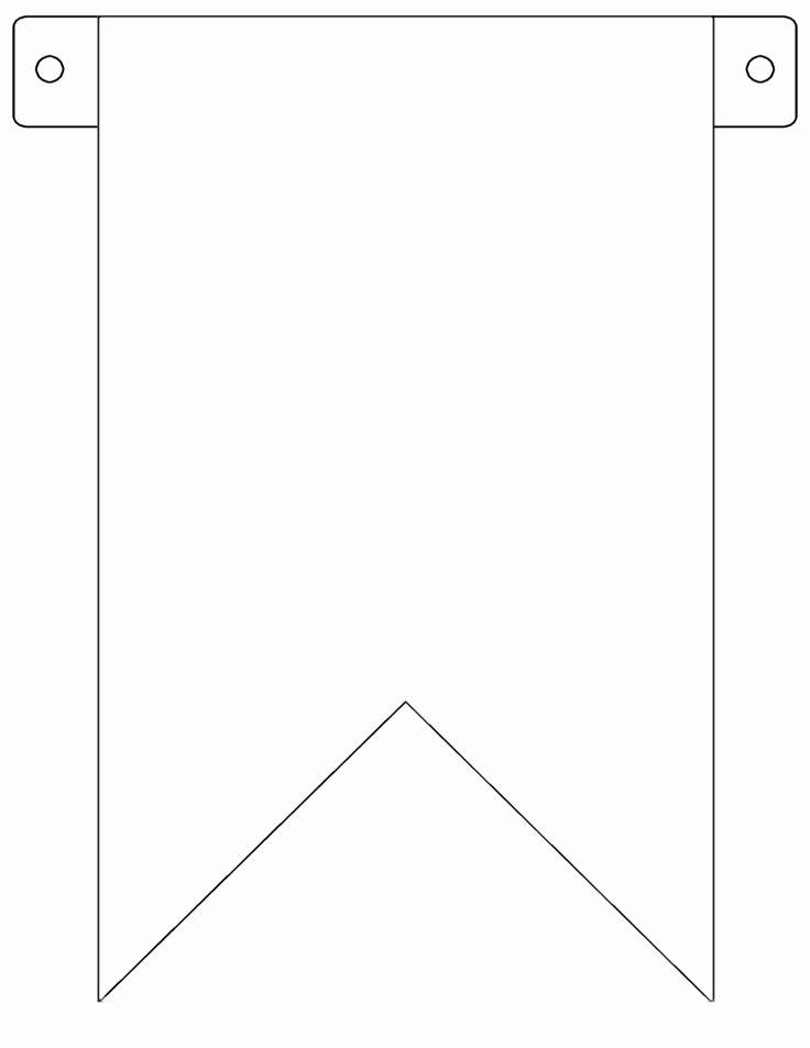 Printable Pennant Banner Template Lovely 7 Best Of Free Printable Pennant Banner Template