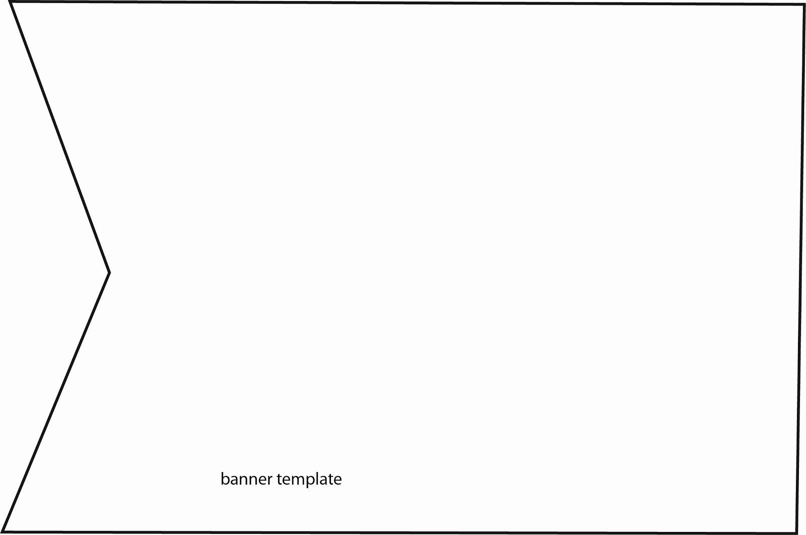 Printable Pennant Banner Template Lovely Bobunny 5 26 13 6 2 13