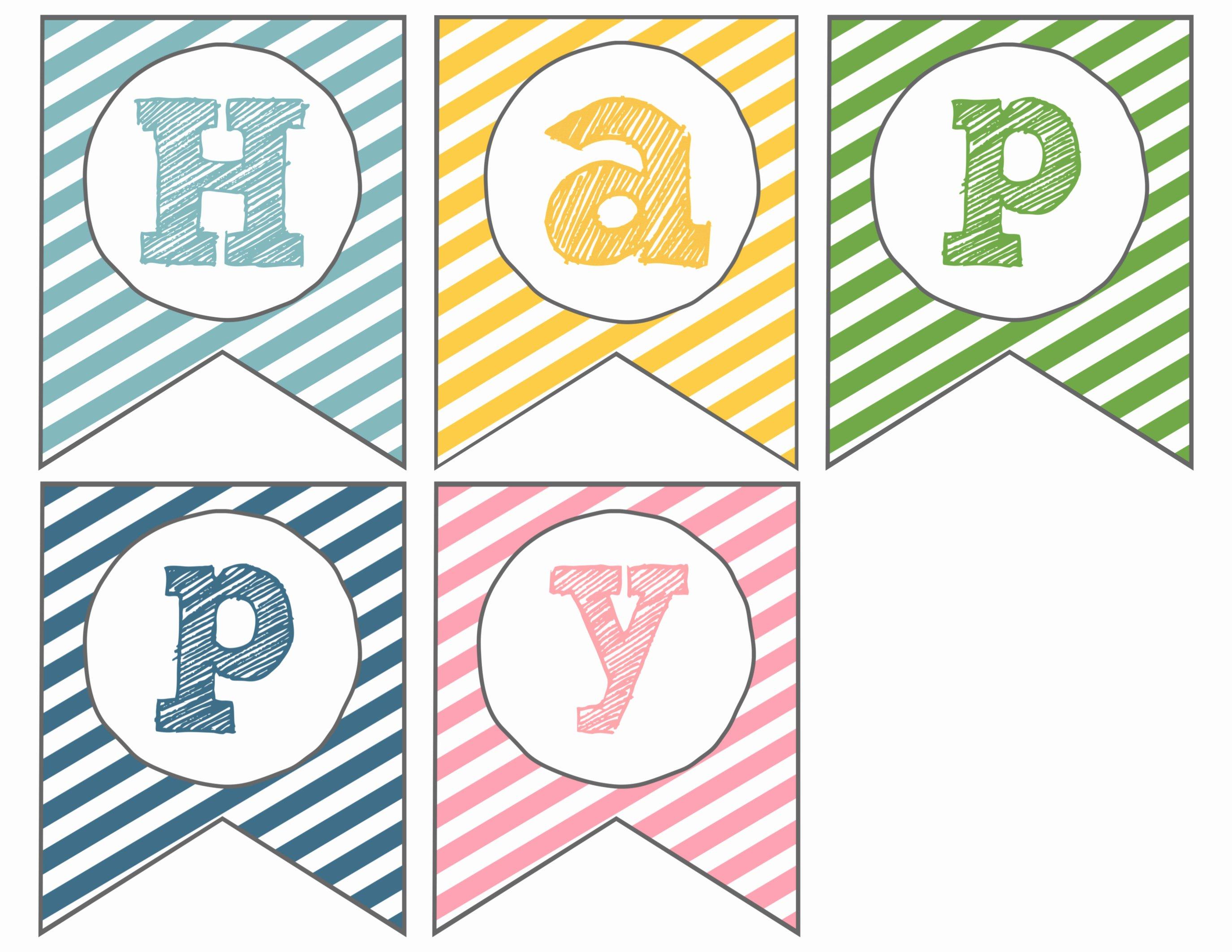 Printable Pennant Banner Template Lovely Easter Banner Free Printable Happy Easter Paper Trail