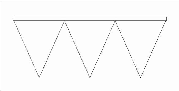 Printable Pennant Banner Template New 23 Pennant Banner Templates Psd Ai Vector Eps