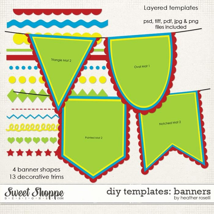 Printable Pennant Banner Template Unique Printable Banners Templates Free