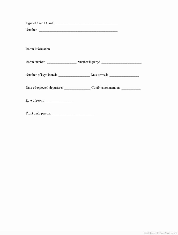 Printable Registration form Template Elegant Printable Guest Registration Template 2015