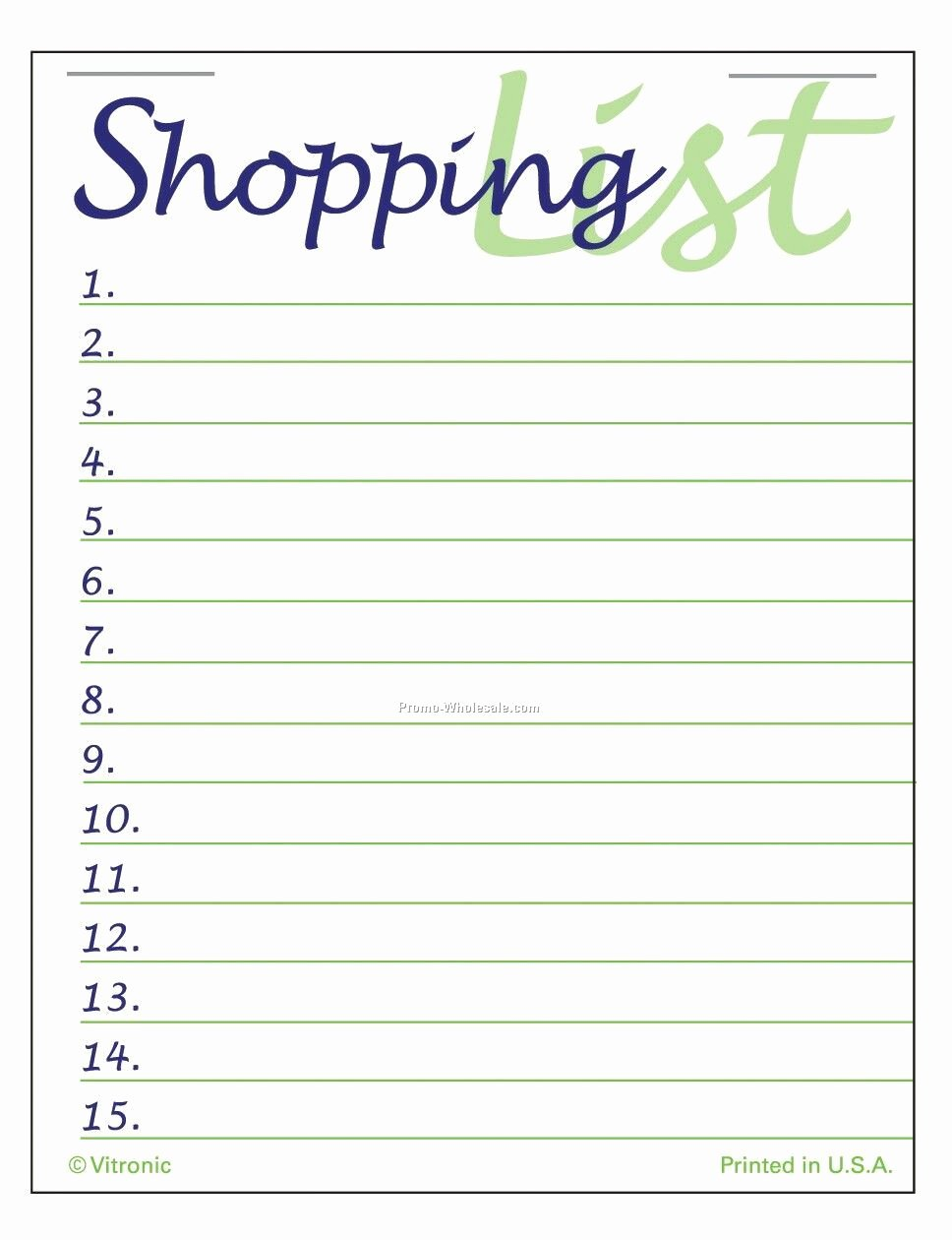 Printable Shopping List Template Inspirational 7 Best Of Pretty Printable Shopping List