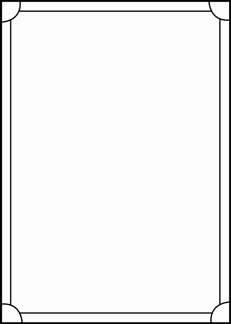 Printable Trading Card Template Awesome Trading Card Template Back by Blackcarrot1129 On Deviantart