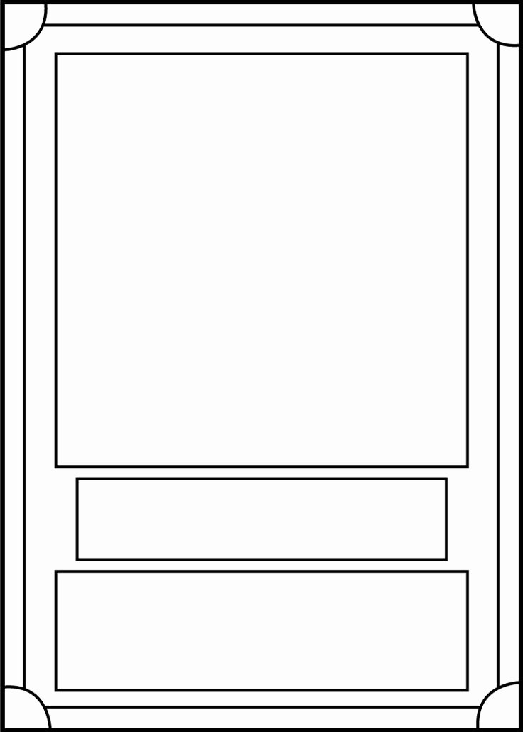 Printable Trading Card Template Awesome Trading Card Template Front by Blackcarrot1129 On