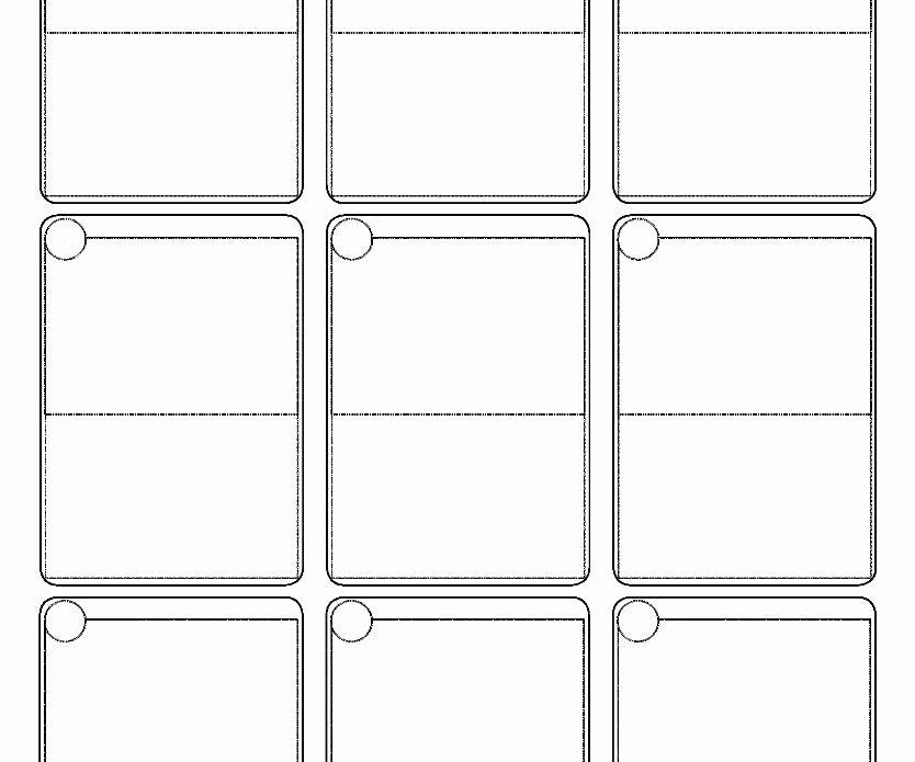Printable Trading Card Template Beautiful Trading Card Template Printable Cards Maker Free Download