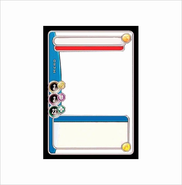 Printable Trading Card Template Fresh Trading Card Template 2017