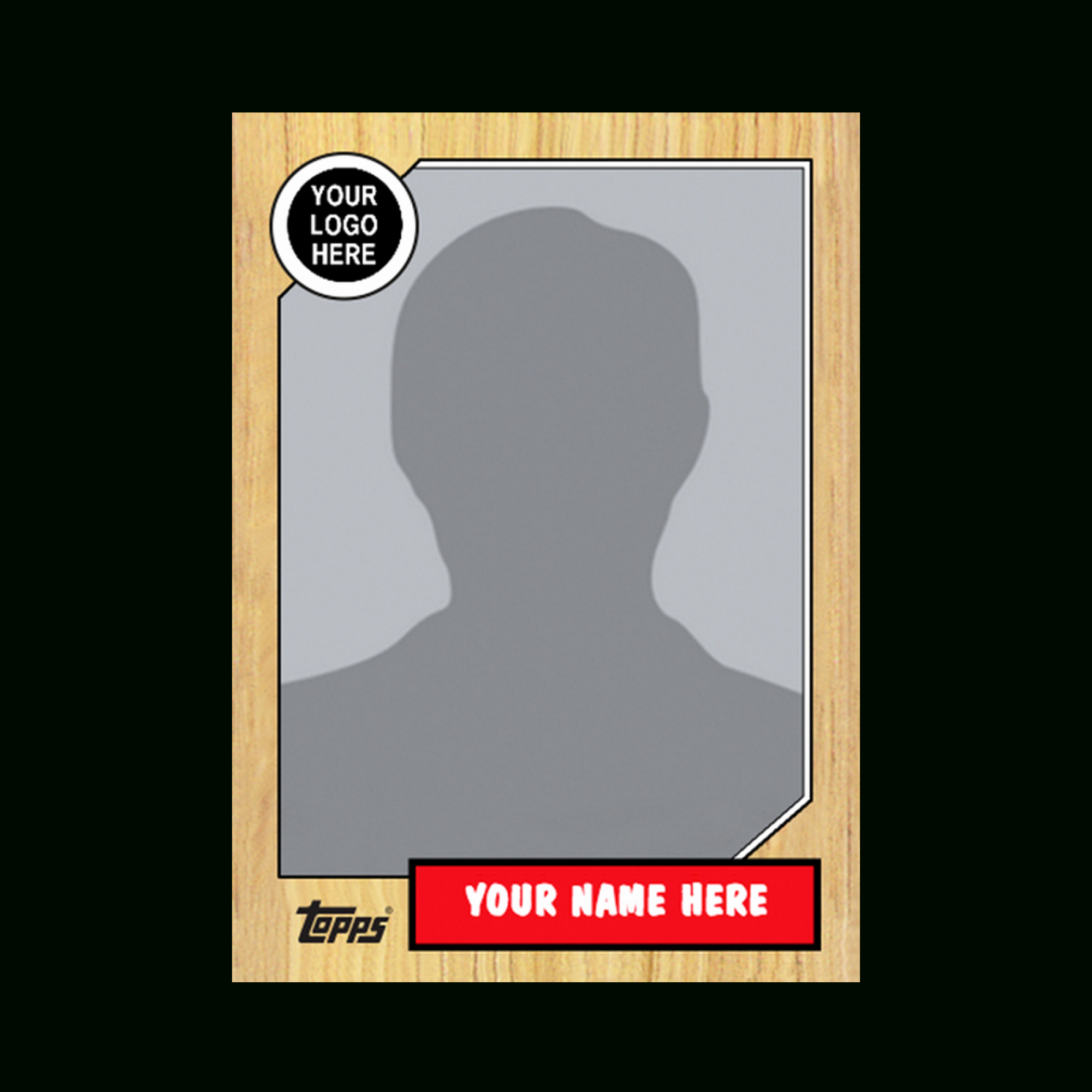 Printable Trading Card Template Lovely Baseball Card Template