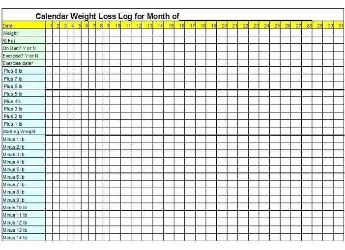 Printable Weight Loss Chart Template Fresh Printable Weight Loss Graph Template Weekly – Flybymedia