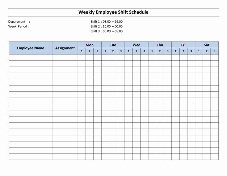 Printable Work Schedule Template Unique Best 25 Monthly Schedule Template Ideas On Pinterest