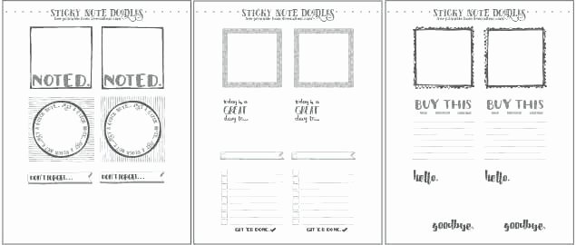 Printing On Post It Template Beautiful 3 X Post It Note Pad with Template Measurements Cover for