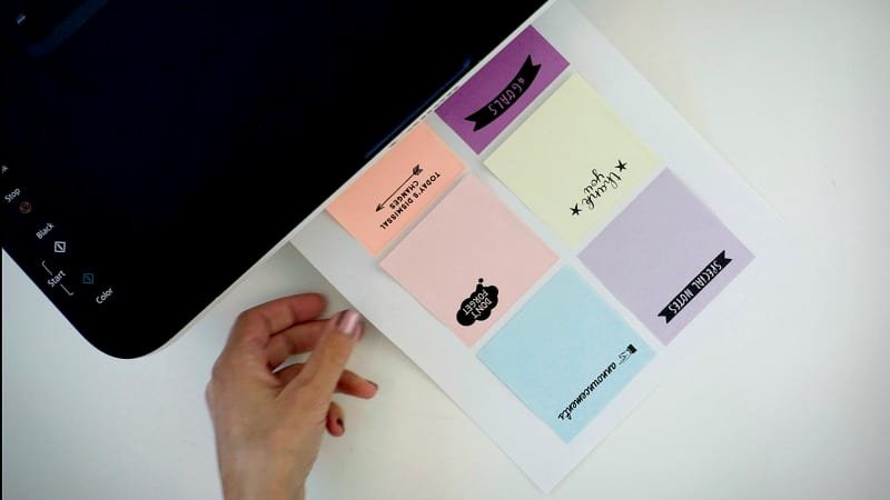 Printing On Post It Template Beautiful Printing On Post Its How to Plus Free Templates for Teachers