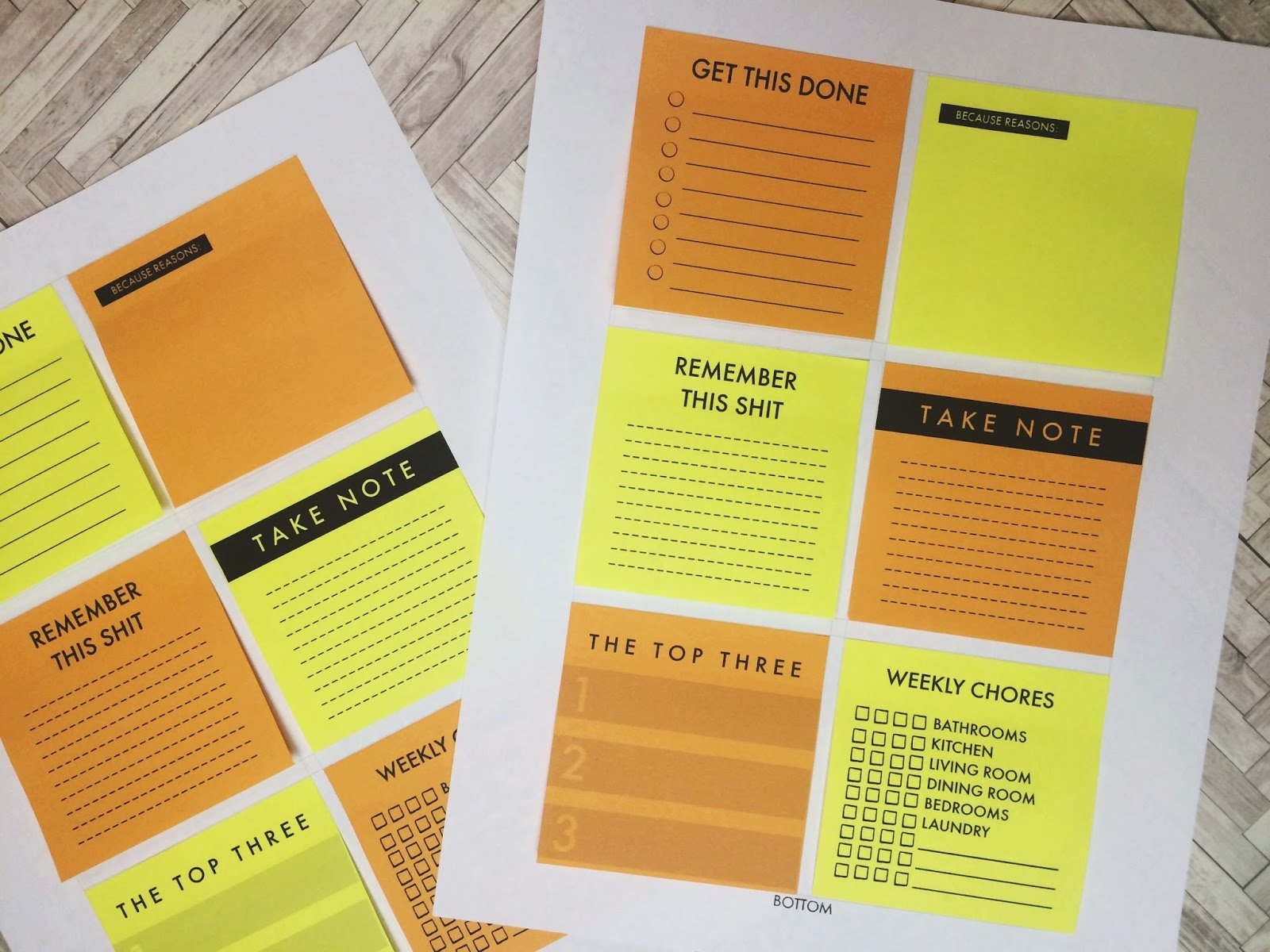 Printing On Post It Template Elegant Five Sixteenths Blog January 2015