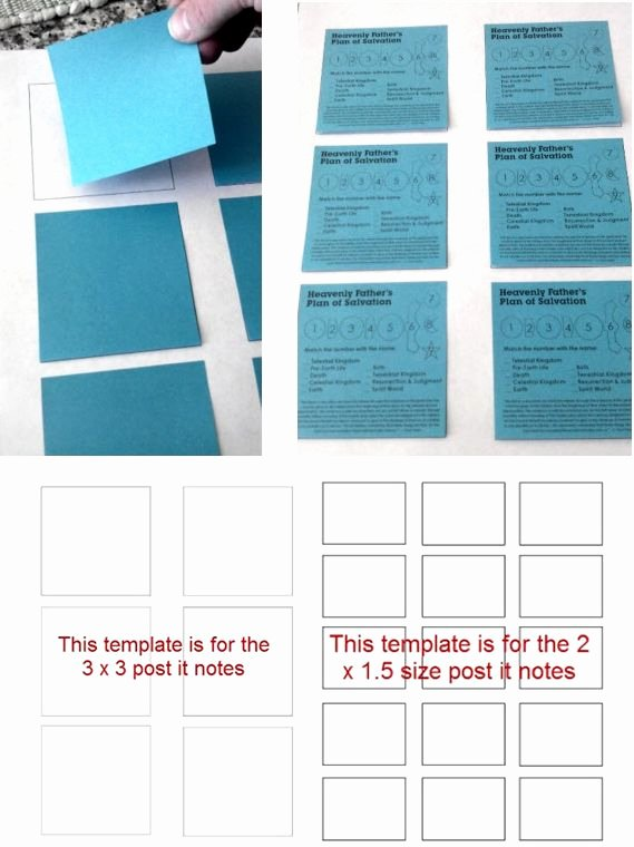 Printing On Post It Template Inspirational 25 Best Ideas About Sticky Note Crafts On Pinterest