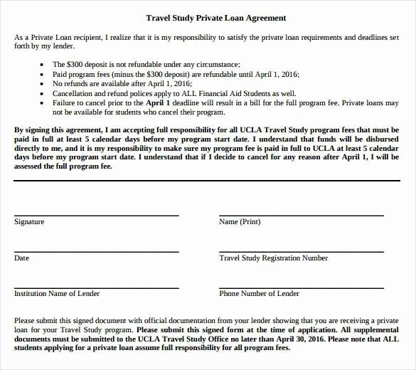 Private Loan Contract Template Lovely 28 Loan Contract Templates – Pages Word Docs