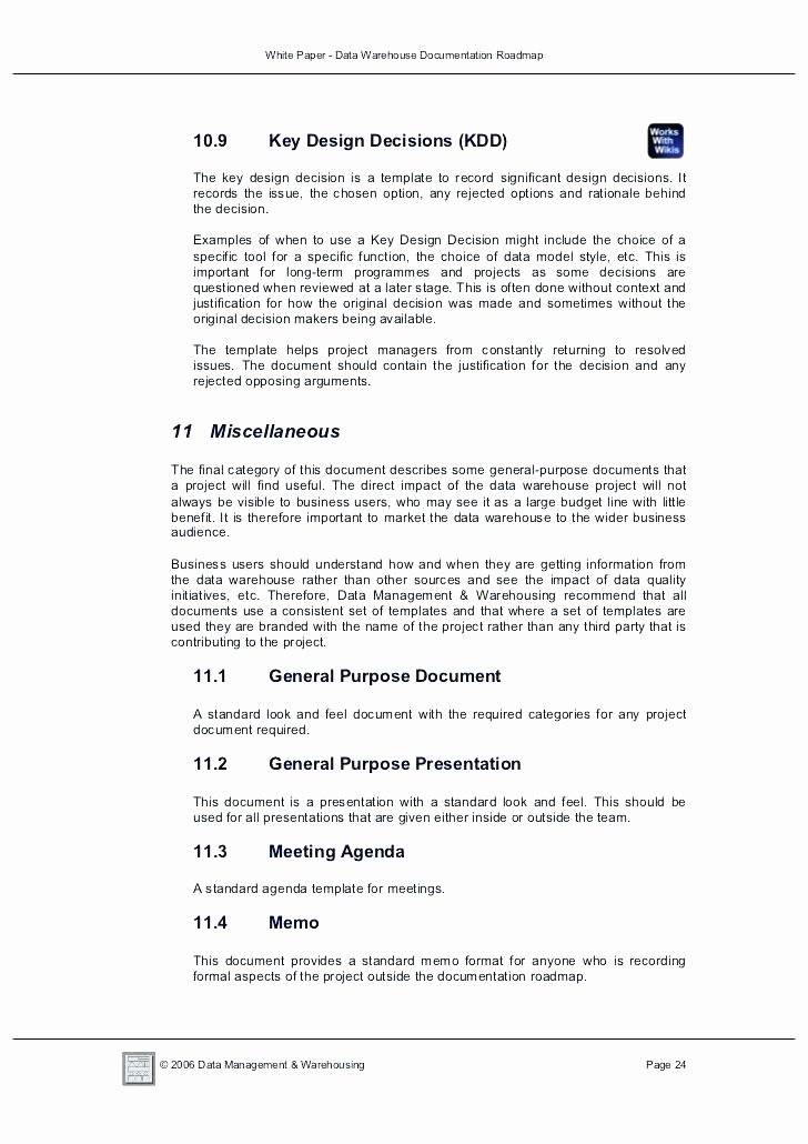 Process Document Template Word Beautiful 9 Data Warehouse Design Document Template Etl