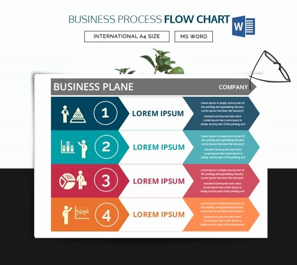 Process Flow Template Word Awesome 40 Flow Chart Templates Free Sample Example format