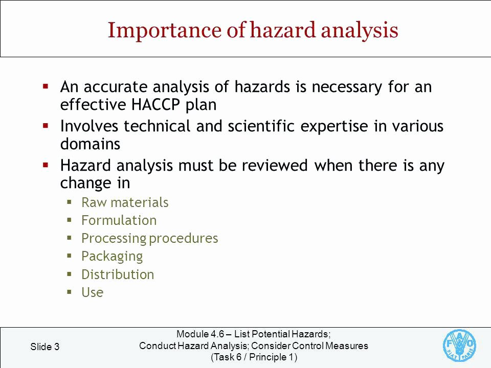 Process Hazard Analysis Template Beautiful Hazard Analysis and Critical Control Point System Download