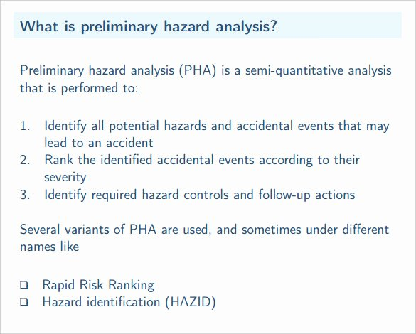 Process Hazard Analysis Template Luxury Hazard Analysis Template – 11 Free Word Excel Pdf