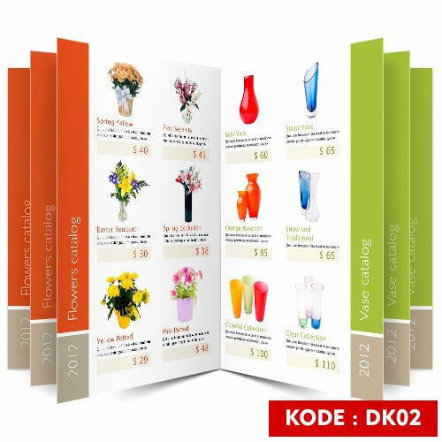 Product Catalog Design Template Beautiful Contoh Desain Katalog Percetakan Line