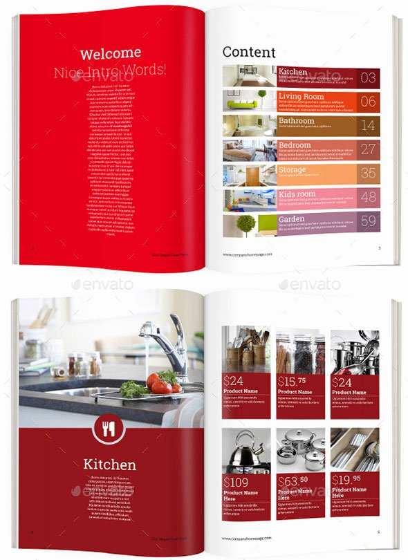 Product Catalog Design Template Elegant 20 Best Product Catalog Design Templates