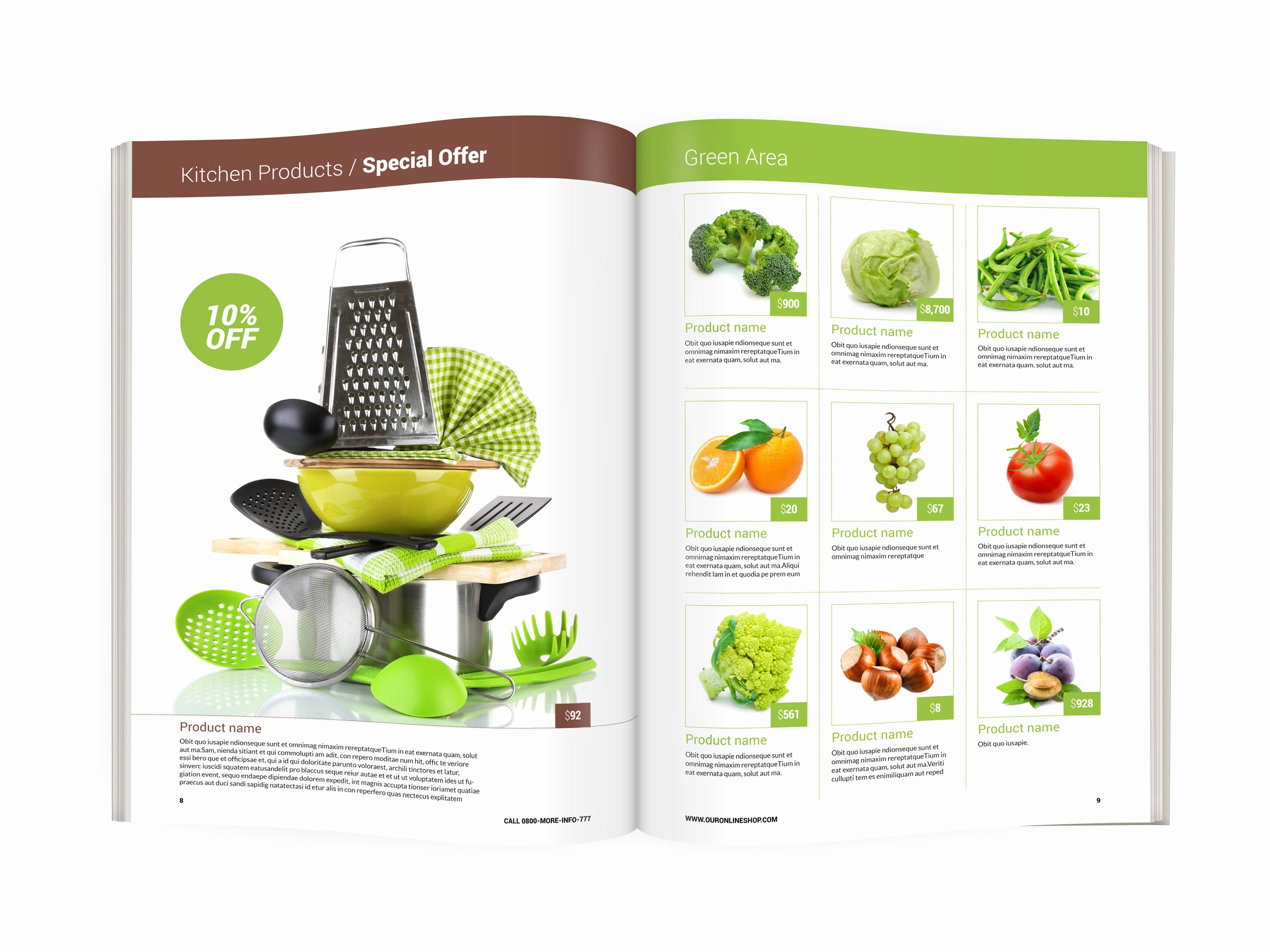 Product Catalog Design Template Fresh Modern Product Catalog In Stock