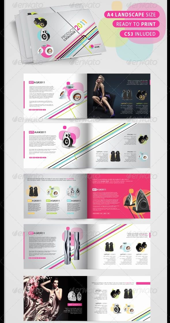 Product Catalog Design Template Luxury Hi Tech Product Catalogue 12 Pages
