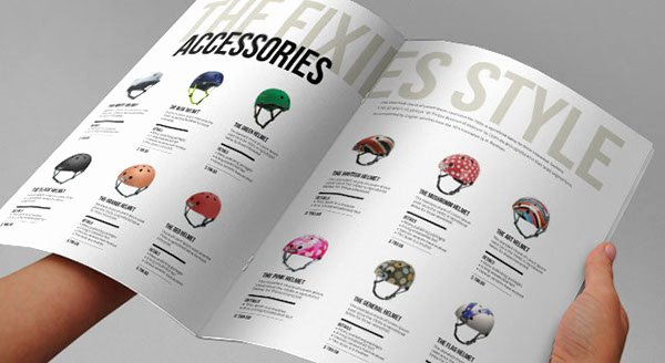 Product Catalog Design Template New the Fixies Indesign Product Catalogue Template On Behance