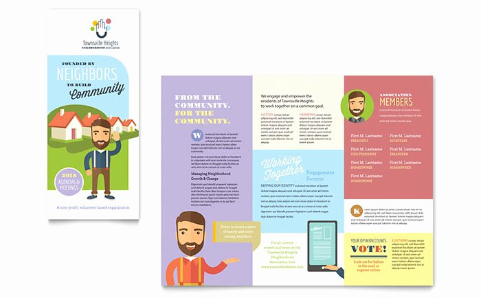 Product Catalog Template Word Inspirational Homeowners association Brochure Template Design