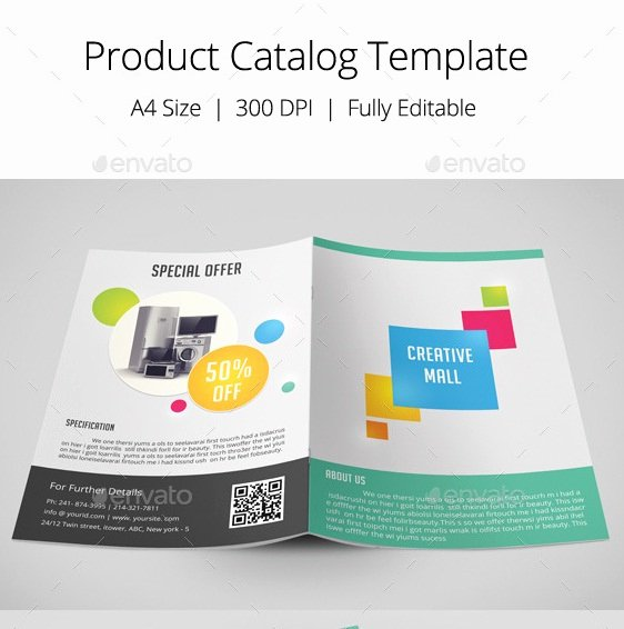 Product Catalogue Template Free Awesome 20 Nice Product Brochure Templates
