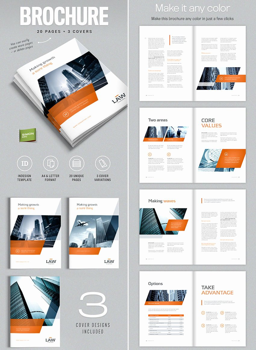 Product Catalogue Template Free Elegant 20 Best Indesign Brochure Templates for Creative